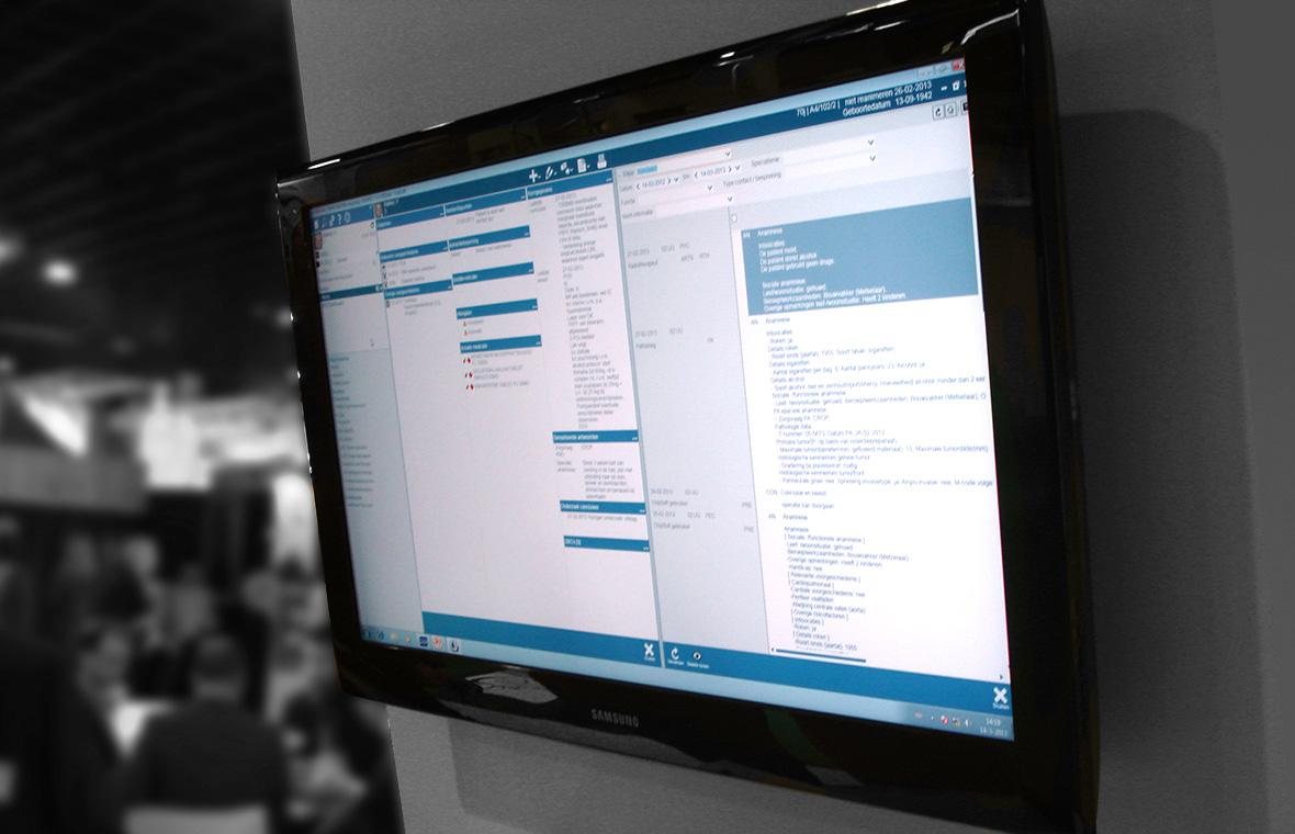 chipsoft ux interaction user experience interface digital software app grafisch ontwerp hix