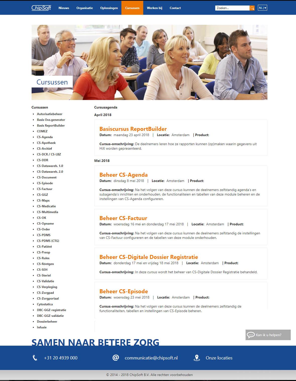 website webdesign chipsoft