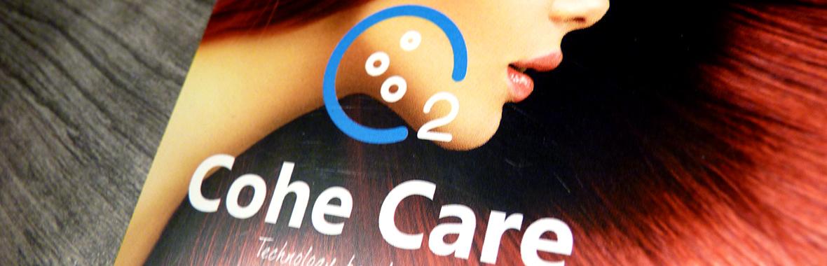 cohe care huisstijl logo website header