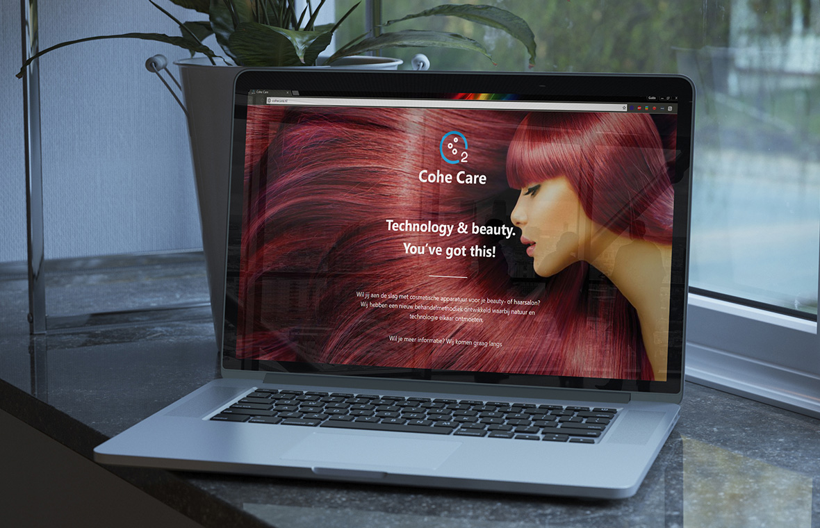 website webdesign cohe care finished product responsive mobile