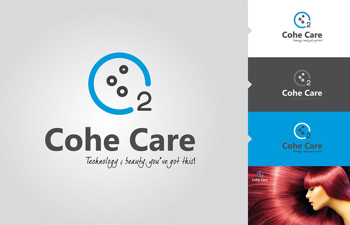 cohecare logo huisstijl presentatie