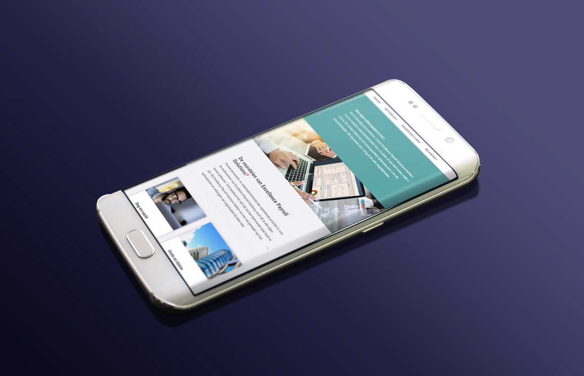 website webdesign excellence smartphone responsive