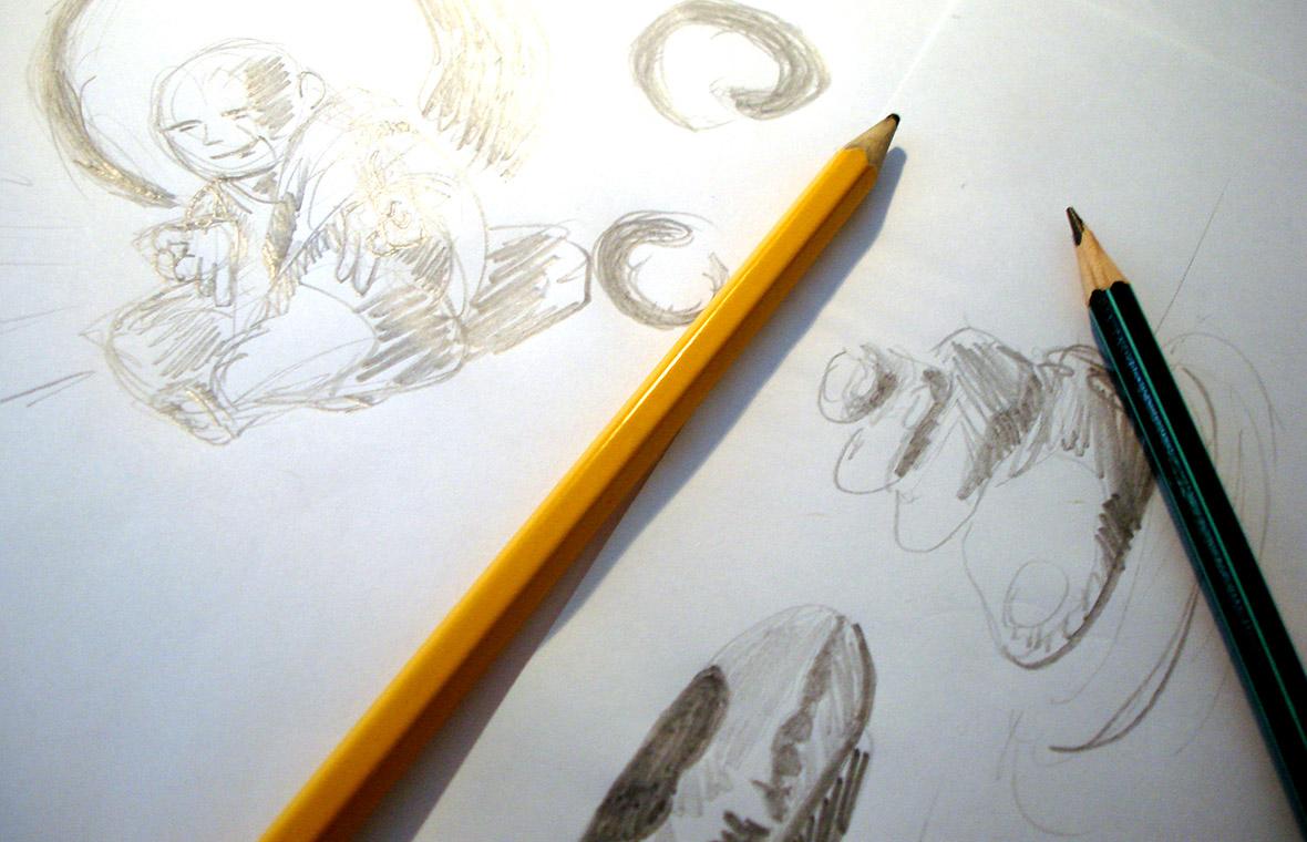 Logo finanzen huisstijl grafisch ontwerp design schetsen