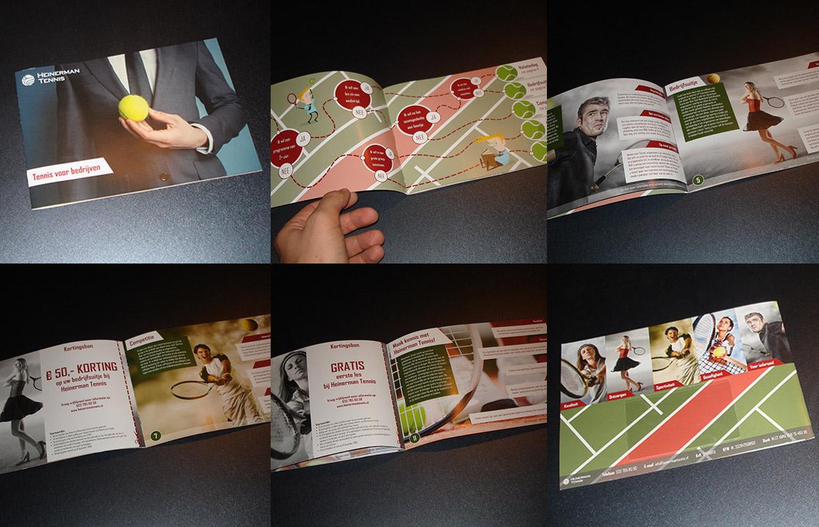 heinerman huisstijl magazine catalogus brochure bedrijfsbrochure closeup compilatie