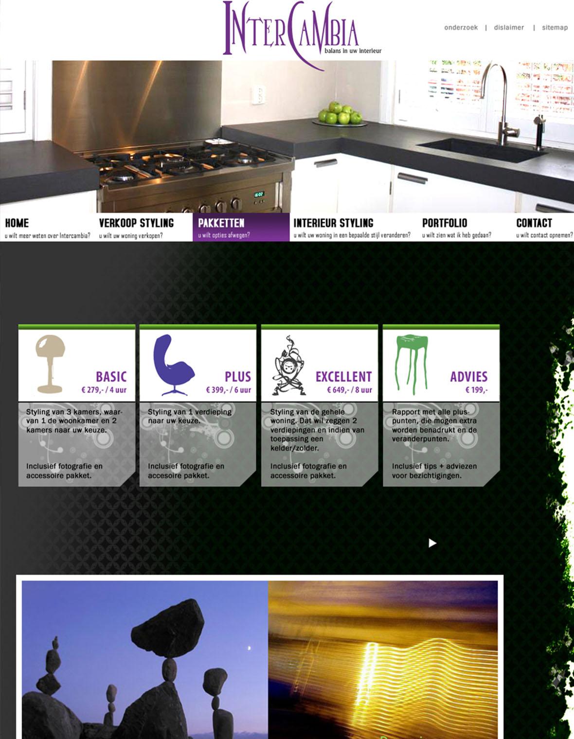website webdesign intercambia