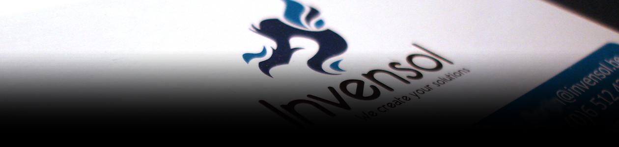 invensol huisstijl logo website header