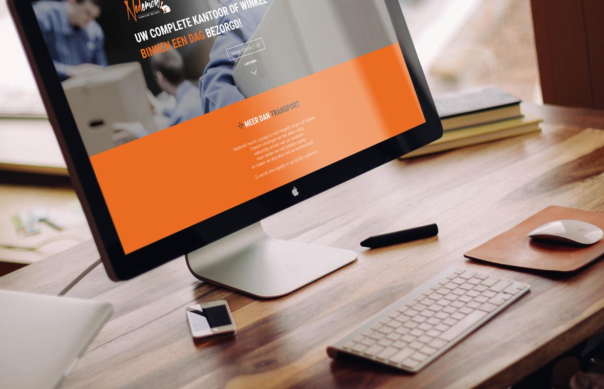 webdesign website nederick