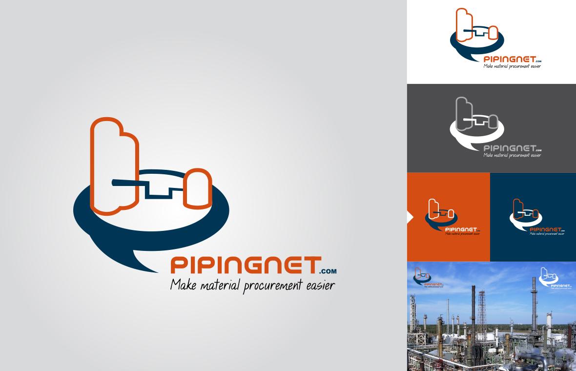 Logo pipingnet huisstijl grafisch ontwerp design