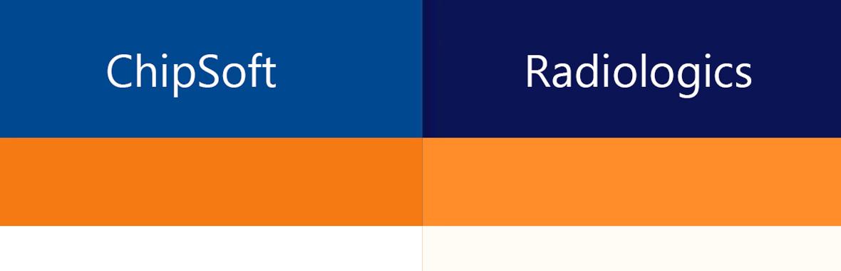 Kleurprofiel kleur radiologics chipsoft huisstijl logo grafisch ontwerp design