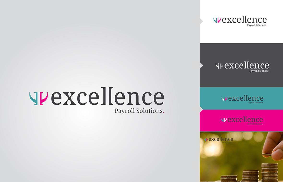 excellence logo huisstijl presentatie