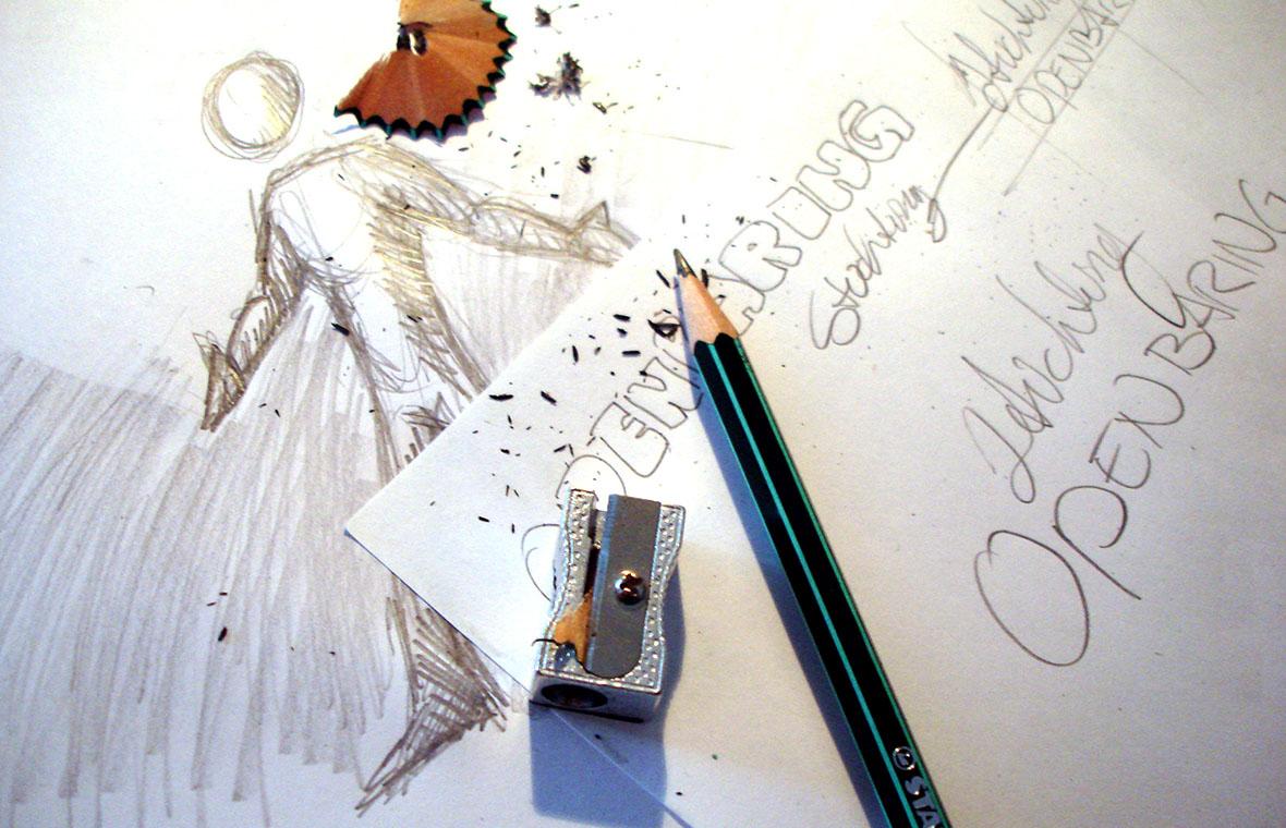 stichtingdeopenbaring logo huisstijl schetsen