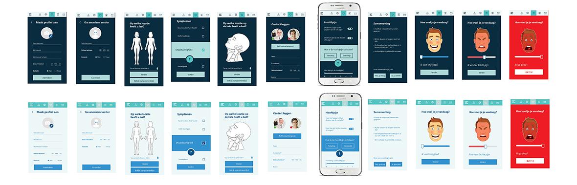 chipsoft ux interaction user experience interface digital software app grafisch ontwerp hix mobiel smartphone