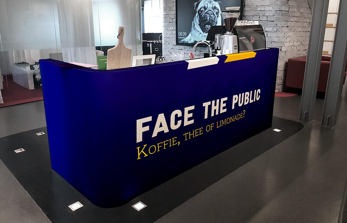facethepublic grafisch ontwerp interieur huisstijl bar koffiecorner