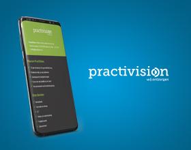 practivision portfolio thumbnail selected