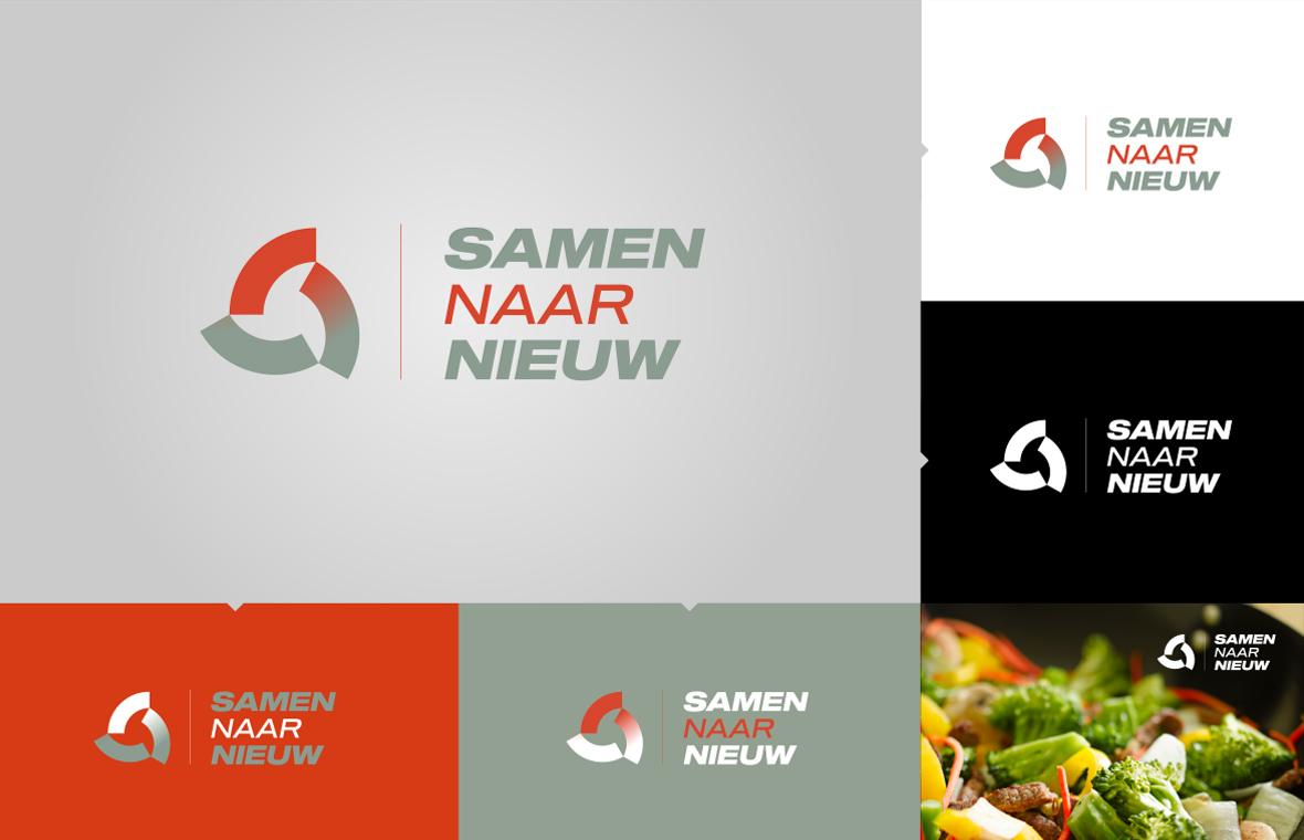 samennaarnieuw logo huisstijl presentatie stijlgids