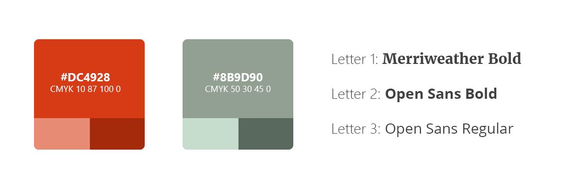 samen naar nieuw stijlgids kleur styleguide huisstijl logo lettertype font
