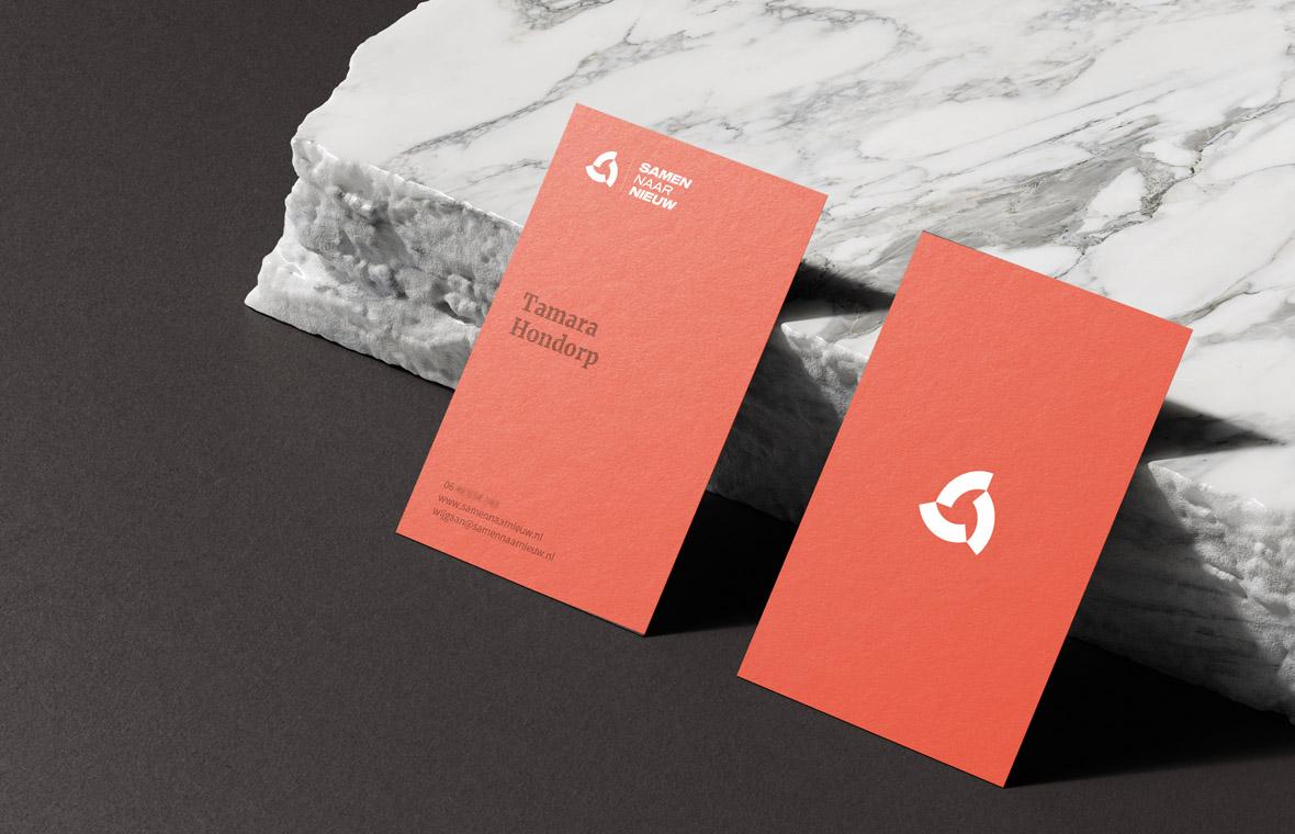 samennaarnieuw website webdesign mockup huisstijl visitekaartjes